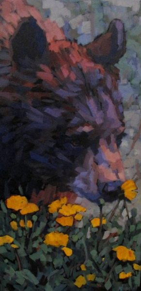 Erica_Neumann_wildlife_painting_bear