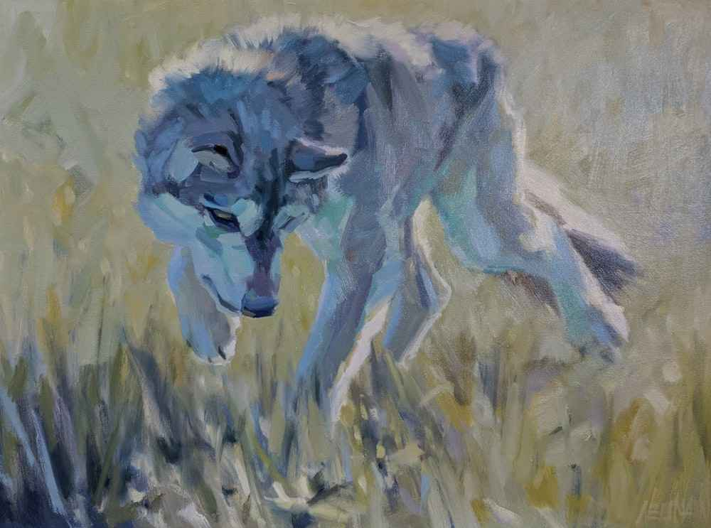 Game_On_wolf_painting_Neumann