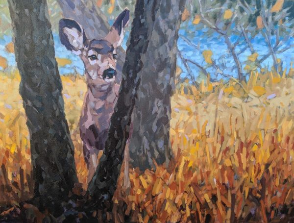 Neumann_Well_Meet_By_the_River_30_40_deer_wildlife_art_web